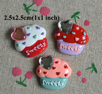 Resin Round 2.5cm x 2.5cm(1x1 inch) Free Shipping 100pcs Flatback Resin 2.5x2.5cm Embellishments Hair Bow Center Kids Crafts DIY RC04056