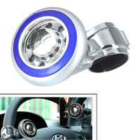 oem Universal 2013 Car Steering Wheel Knob Ball Hand Control Power Handle Grip Spinner Silver