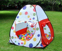 Cheap Childern Playing Indoor & Outdoor Pop Up House, Kids Play Game playground equipment, multi-function tent for child exercise toy