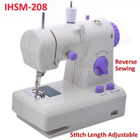 Wholesale Electric Household Multi Function Sewing Machine can Adjust Stitch Length Reverse Sewing with Power Supply