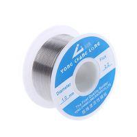 Wires welding wire - 1 mm g best Tin Lead Rosin Core Solder Soldering solder Wire desoldering braid wick flux welding wire arame de solda core