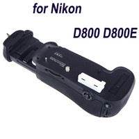Wholesale High Quality Magnesium Alloy Camera Vertical Battery Grip Holder for Nikon D800 D800E DSLR