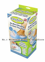 Wholesale Easyfeet Easy Feet Foot Scrubber Brush Massager Clean Bathroom Foot Care Tool