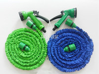 x hose - Expandable Hose X ft M with Sprayer Opitional Hoses Blue Water Garden Pipe Water Hoses