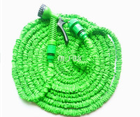 Wholesale Garden Water Hose With Sprayer X FT FT FT Water Hose Expandable amp Flexible WATER GARDEN HOSE Via DHL