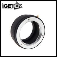 Wholesale MD NEX Adapter Ring for Minolta MC MD Lens for Sony NEX F5 R VG20 E mount Camera
