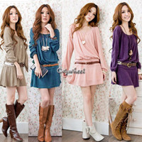 Fall Casual Dresses 2014 Colors Pluse Size