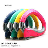 Wholesale One Trip Grip Bag Holder Easy Carrier Handle Useful Grocery Shopping Bag per