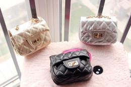 Wholesale Korean Children Coin Purses Soft PU Diagonal Single Shoulder Fashion Princess Chain Bags 004