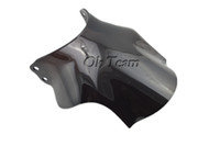 Wholesale WindscreenS Double bubble Windscreen Windshield for Honda CB400 Super Four CB SF Black Transparent Motorcycle Windshield