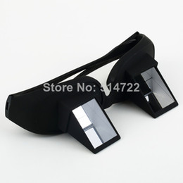 Wholesale 1pcs New Polarized Lazy glasses Lazy Creative Periscope Horizontal Sit View Glasses Bed View Glasses