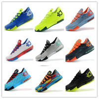 Mid Cut Men Spring and Fall 2014 New What The MVP KD V 6 Aunt Pearl Liger Away II Mens Basketball Shoes Christmas Easter Ice Cream Sneaker Kevins Durants VI