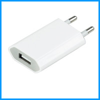 Wholesale 200 V mah USB Wall Charger AC Adapter US EU Plug Wall Home Charger for iphone S G GS S C