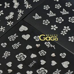Wholesale BeautyGaGa Supply Multiple Designs Nail Beauty Design Personal DIY Nail Art Seal D Nail Stickers Nail Patch Sticker
