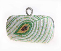 Wholesale New spot fine beaded evening bag handmade bag ring hand bag waiting for you oh