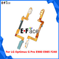 For LG   Wholesale Q0116 - 100pcs lot Power Button Connector Flex Cable for LG Optimus G Pro E980 E985 F240 - Free DHL Shipping
