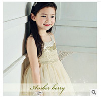 TuTu korea fashion - 2014 Girls New Arrival Fashion Style Dress Korea Fashion Style Dress Big Girls Hot Sold Fashion Style Amber Berry Elegant Dress