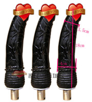 Excelentes Adjuntos Dildo de máquina consolador pistón telescópico automático, pistola de juguete máquina sexual para parejas