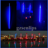 Wholesale Whips LED lighted whip atv utv Blue light ATV UTV Sand Rail led light
