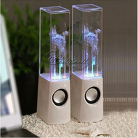 Universal flash mp5 - 5pcs Music Audio Dancing Water Speakers for SD MMC Card MP3 Mp5 PC Mobile Phone Flash Light