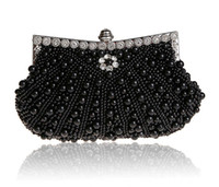 Wholesale A new spot at pearl bag hand bag Europe and the United States popular wedding bride bag bag spot
