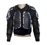 Wholesale NEW HOT Free shipmotorarmor Body Armor Motorcycle Jacket Spine Chest Racing Cycling Biker Armour Armor Motor Motocross protector M XXL