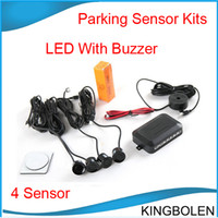 Car Parking Sensor alert ship - price Sensors Buzzer No Drill Hole Saw mm Car Parking Sensor Kit Reverse Radar Sound Alert Indicator System