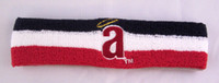 Wholesale New Anaheim Angels Cooperstown Collection Stripe Retro Logo Sweatband Headband