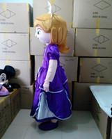 Cheap Sofia Princess Mascot Costume Cartoon Character Sophia Costumes Party Carnival Halloween Christmas Outfits