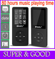 Wholesale 2014 New Arrive Music playing time hours gb Colors fm radio video e book date recording video picture mp3 player free gift