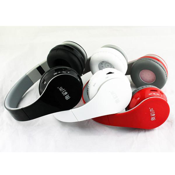 2014 BT- 528 Nouvelle sans fil Casques Casque antibruit Bluetooth Casque DJ haute performance avec boîte scellée Microphone intégré
