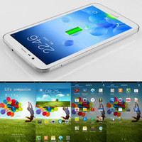 Wholesale 7 quot Sanei G706 G Phone Call Tablet Quad Core Dual SIM CDMA GSM MTK8382 MP MP Dual Camera GB GB Android WiFi Bluetooth GPS