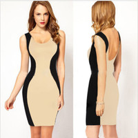 2014 New Arrival European Style One piece bodycon casual Dre...