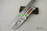 Wholesale Browning Extreme Survival Folding Knife Tactical Outdoor Camping Knife Cr13 HRC Blade A413