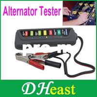 Wholesale Tirol V LED Digital Car Battery Alternator Tester Tester LED Lights Display Indicates Condition Diagnostic Tool