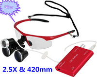 Cheap Manual ultra light Magnifier Best No Yes 2.5X dental loupe