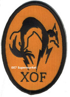 Wholesale Metal Gear Solid Foxhound Fox Hound Fox Embroidered IRON ON SEW ON Cool Movie TV Biker Vest Patch Military Badge
