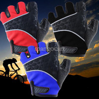 Wholesale 3 Colors New Hot Sale Men Half A Racing Cyclist Cycling Gloves Riding Outdoor Half motorcycle Gloves