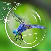 bifocal lenses - 3 stock lens Flat Top Bifocal