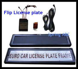 Wholesale Hot Sale License Plate Flippers for EU size plate flipper stealth plate mm mm
