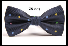 Wholesale 100pcs new snall dot men s classic bow tie High quality tie colors