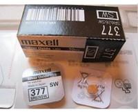 Wholesale Package Sales Watch Batteries SR626SW Original Card Watch 407