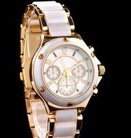 Casual Women's Chronograph Luxury Watches Arrival Famous Watches Japanese Movement Diamond Women Dress Watches With Calendar Quartz Watch Clock