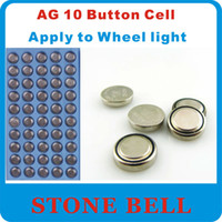 Wholesale x AG10 LR54 SR54 SR1130W SB BU L1130 Watch Clock Wheel light Cell Button Batteries Alkaline toys LOT407