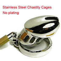 Male Chastity Cage  Small size Metal Male Chastity Belt Device Men Cock Cage sex toys Adult penis ring sleeve toys for men Free shipping