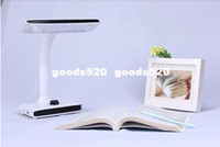 Desk Lamps TL27 Shadeless Folding 40 LED Desk Lamp Bedside Lights Eye Protective Knob Control Table Lamps 1.5M