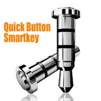 Wholesale Smart Key Quick Button With Compatible APP for Andriod Smartphone Klick Preesy Ikey Smart Phone Dustproof Plug mm Smartkey up
