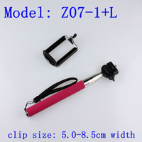 Wholesale 50sets Monopod Holder Mobile Phone Monopod with phone holder cm Clip DY