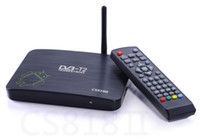 Dual Core Included 1080P (Full-HD) CS818II CS818 II DVB-T2 Dual Core Android 4.2.2 1G 8G WiFi dual core mx android smart tv box 10pcs