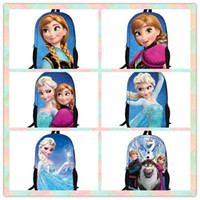Wholesale New arrival Frozen bag Anna Elsa Children s School bag Kids Backpack Girl s Boy s Cartoon Bags